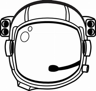 Astronaut Helmet Clip Vector Svg Space Printable