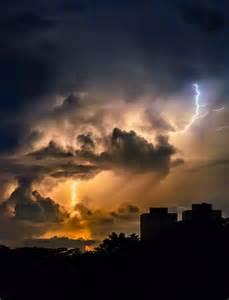 Angry Lightning Sky