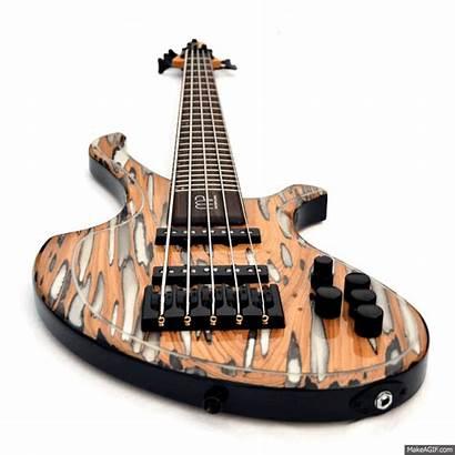 Guitar Bass Guitars Animated Giphy Mira Gifs
