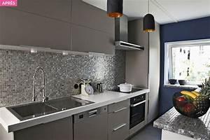cuisine en longueur comment lamenager au mieux maison With comment meubler une entree 4 meuble dentree moderne avec 2 miroirs