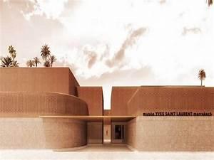 Musée Yves Saint Laurent : project of the week mus e yves saint laurent marrakech ~ Melissatoandfro.com Idées de Décoration