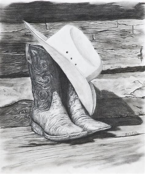 pencil drawings cowboy google search pencil drawings