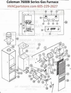 7663b856 Coleman Gas Furnace Parts  U2013 Hvacpartstore