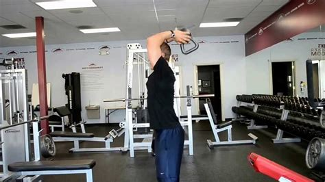 press french triceps kettlebell fitness