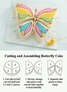 butterfly birthday cake pattern cakes pinterest With butterfly birthday cake template printable