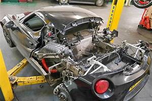 Removing The Gearbox From An Alfa 4c