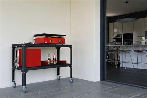 mobilier de bureau 974 desserte plancha hegoa avec cache cube butagaz et range