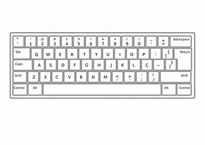 Keyboard Clipart Pt Br Keyboards Coloring Keboards