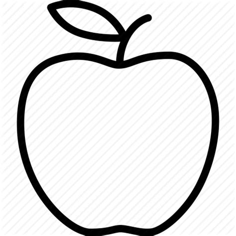 Free Apple Outline, Download Free Clip Art, Free Clip Art ...