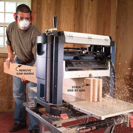 benchtop wood planer wood working tips