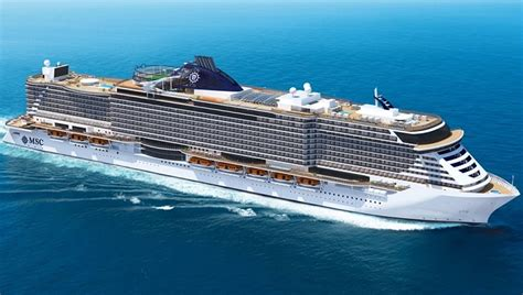 Cruise Ship Sinking 2017 by Msc Cruises Takes Delivery Of 2017 S Largest Cruise Ship