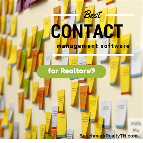 Best Contact Manager by Best Contact Management Software 2015 Benchmark Realty