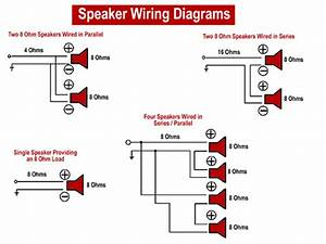 Wiring Diagrams For 4 8 Ohm Speakers