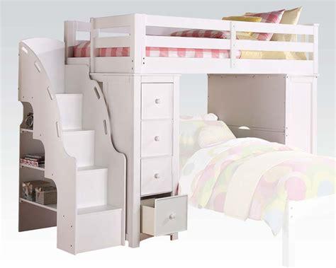Acme Loft Bed & Bookcase Ladder Ac37145