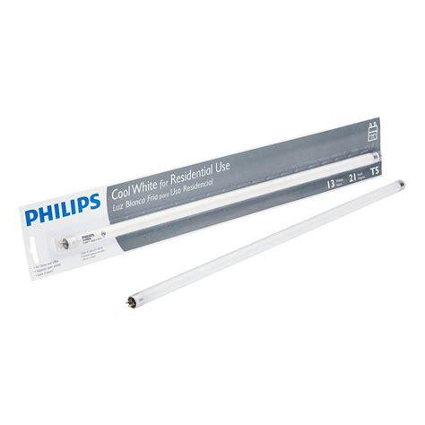 t5 fluorescent light 21 in t5 13 watt cool white 4100k linear fluorescent