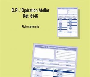 Ordre De Réparation : ordre de r paration op ration d 39 atelier conorga ~ Medecine-chirurgie-esthetiques.com Avis de Voitures