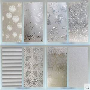 waterproof pvc privacy frosted home bedroom bathroom With bathroom window glass styles