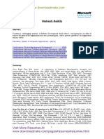 dot net developer net developer sample resume cv microsoft sql server microsoft