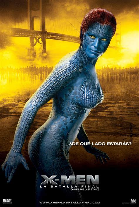 mystique posters x3 films