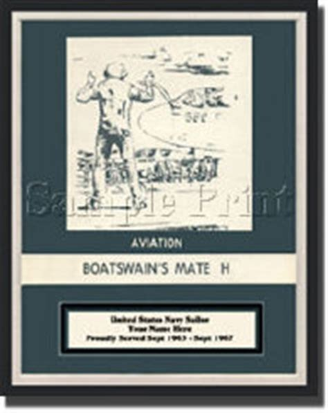 Boatswain Mate Manual by Us Navy Rate Aviation Boatswains Mate H Canvas Print