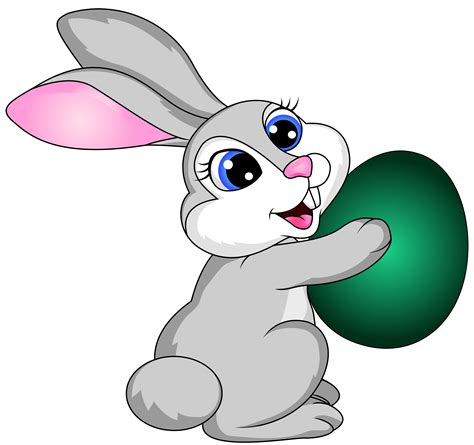 easter bunny clipart bunny clipart transparent background pencil and in color
