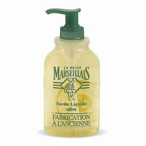 Pompe A Savon : le petit marseillais pompe savon liquide l 39 ancienne olive 300ml ~ Teatrodelosmanantiales.com Idées de Décoration