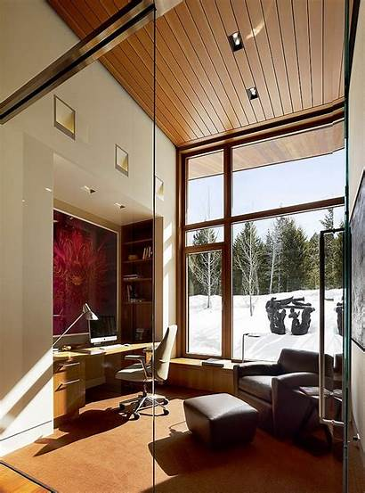 Modern Office Architects Residence Panoramic Contemporary Butte