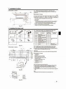 Fujitsu Air Conditioner Installation Instructions