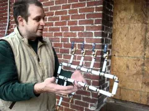 great instructions  building  manifold  pex