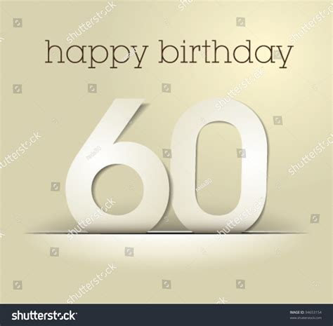 number  birthday card vector simple stock vector