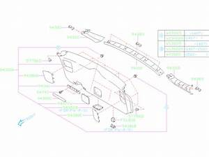1999 Subaru Outback Wagon Lift Gate Diagram