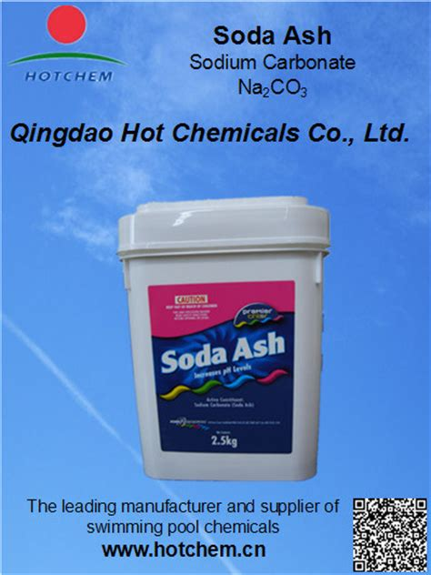 China Cas No 497198 Soda Ash For Swimming Pool Water