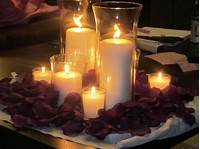 candle centerpiece ideas Ideas on Inexpensive Wedding Centerpieces with Candles ...