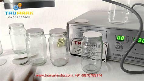 manual induction sealer  glass jar youtube