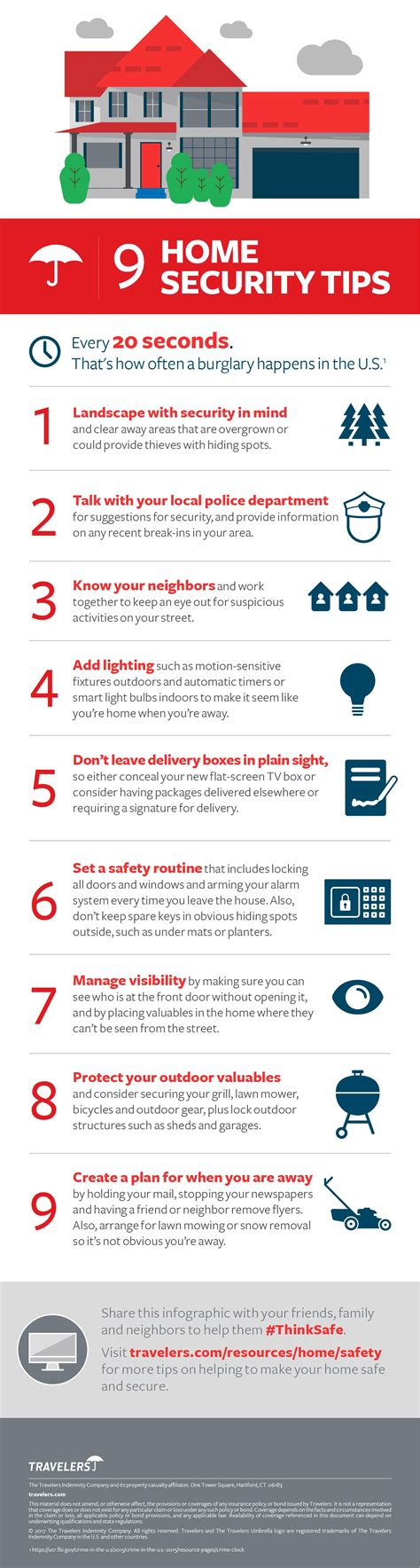 home security tips infographic ayala insurance