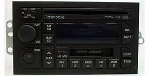 1998-2000 Oldsmobile Intrigue Factory Bose Radio