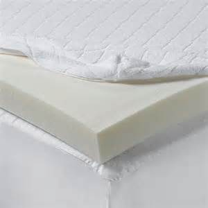 isotonic 174 2 inch visco elastic memory foam mattress topper bed bath beyond