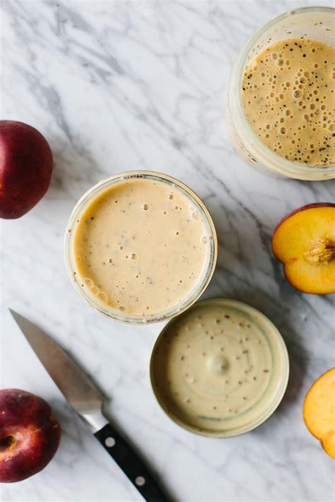 Peach Smoothie Delicious Breakfast Recipe