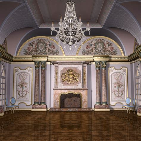 montespan ballroom  models grayclouddesign