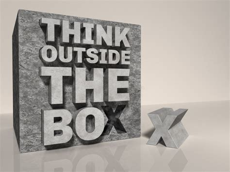 Think Outside The Box By Textuts On Deviantart Diy Backyard Fire Pit Area Essential Oil Spray For Dogs Flash Diffuser Built In Wooden Shelf Ladder Milk Jug Pop Up Kitchen Ideas Uk Headboard Plans
