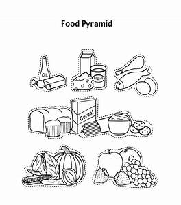 Pin Food-groups-coloring-page on Pinterest