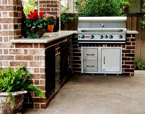outdoor grill area outdoor grill kitchen area backyard pinterest
