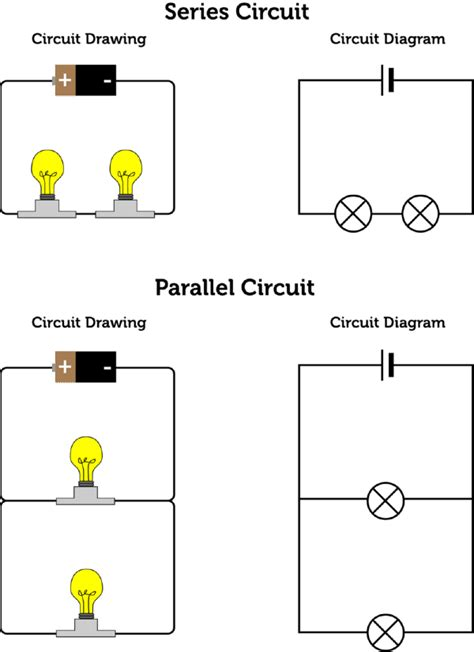 Electrical Circuit Series Parallel Diagram Images