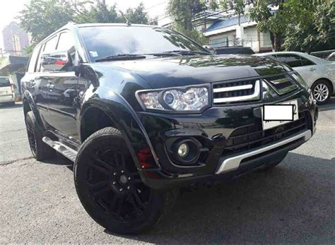 Mitsubishi Pre Owned by Pre Owned Mitsubishi Montero Sport Gls V Diesel At Used