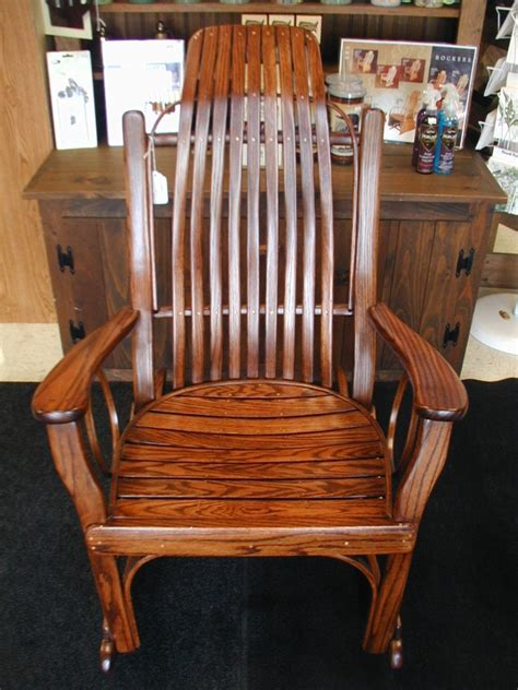 amish rocking chair indoor furniture gliders rockers