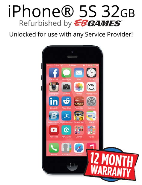 refurbished iphone 5 unlocked iphone 5s 32gb unlocked black refurbished iphone ebay
