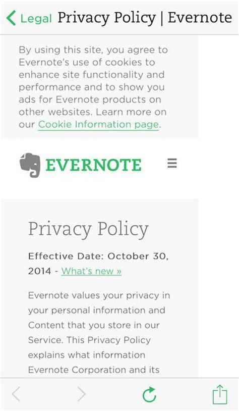 Privacy Policy Template For Apps by Sle Privacy Policy Template Termsfeed