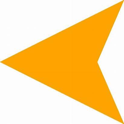 Arrow Animated Arrows Left Blinking Gifs Orange