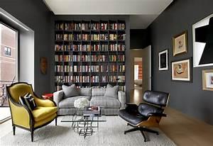 Grande Bibliothèque Murale : am nager une biblioth que murale dans son salon quelle ~ Teatrodelosmanantiales.com Idées de Décoration