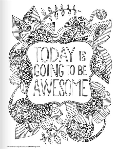 inspirational coloring pages for adults inspirational quotes coloring book for adults